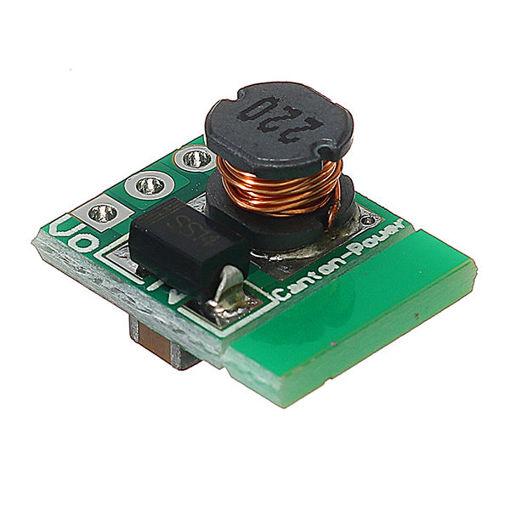 Picture of 1.5V 1.8V 2.5V 3V 3.7V 4.2V 5V TO 3.3V DC-DC Boost Converter Module Board