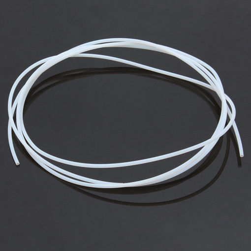 Picture of 1.75mm 2*3mm Slippery Transparent FEP Filament Guiding Tube for 3D Printer Extruder