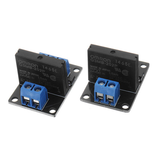 Picture of 1 Channel DC 24V  Relay Module Solid State High and low Level Trigger For Arduino 240V2A