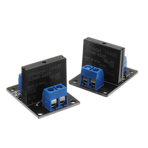 Picture of 1 Channel DC 12V  Relay Module Solid State High and low Level Trigger For Arduino 240V2A