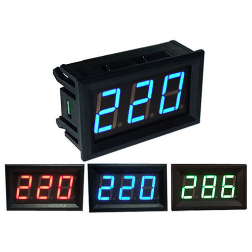 Picture of 0.56 Inch AC70-500V Mini Digital Voltmeter Voltage Panel Meter AC Voltage LED Display Meter