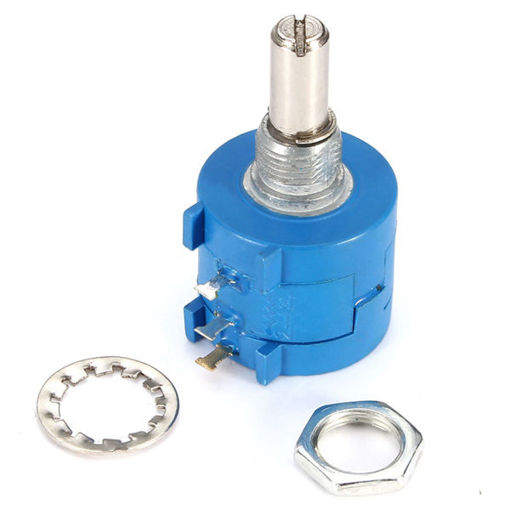 Picture of 3590S-2-103L 10K Ohm BOURNS Rotary Wirewound Precision Potentiometer Pot 10 Turn