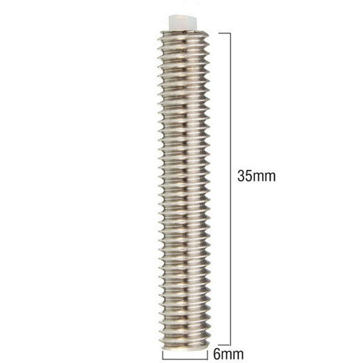 Picture of 1.75mm M6 35MM Nozzle Throat For 3D Printer Extruder RepRap