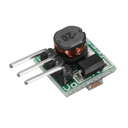 Picture of 0.9-5V To 5V DC-DC Step Up Power Module Boost Converter Board 1.5V 1.8V 2.5V 3V 3.3V 3.7V 4.2V To 5V