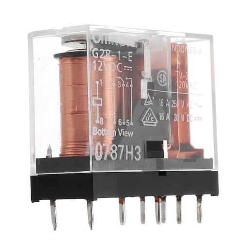 Picture of 1 Channel Relay PLC Amplification Board Controller With Indicator Light NPN PNP DC 12V