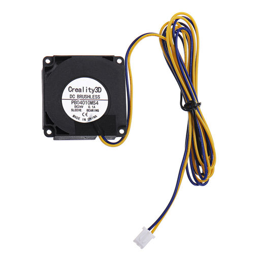 Immagine di Creality 3D 40*40*10mm DC24V 0.1A High Speed DC Brushless 4010 Blower Cooling Fan For 3D Printer