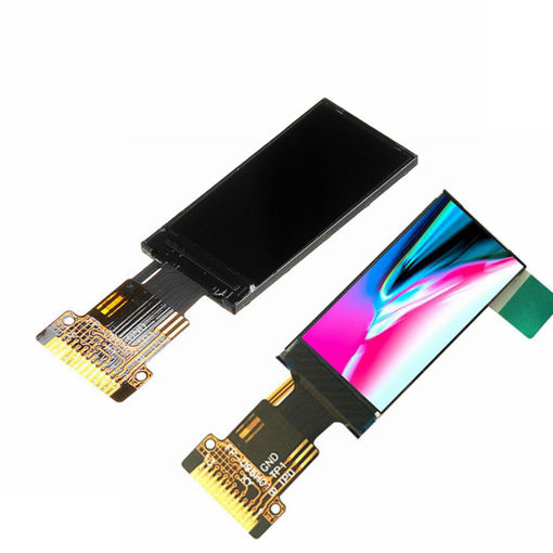 Picture of 0.96 Inch HD RGB IPS LCD Display Screen SPI 65K Full Color TFT  ST7735 Drive IC Direction Adjustable
