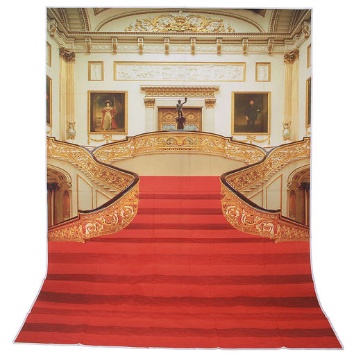 Picture of 1.5x2.1m 5x7ft Golden Palace Vinyl Studio Photo Photography Backdrop Background