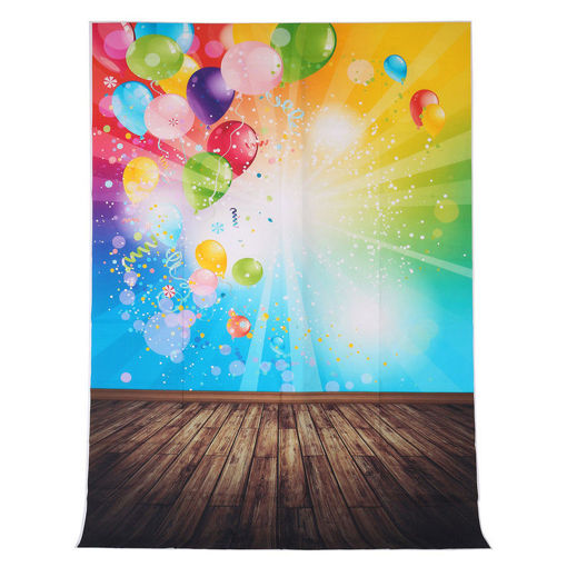 Picture of 1.5x2.1M 5x7FT Balloon Pattern Vinyl Studio Photo Photography Background Backdrop