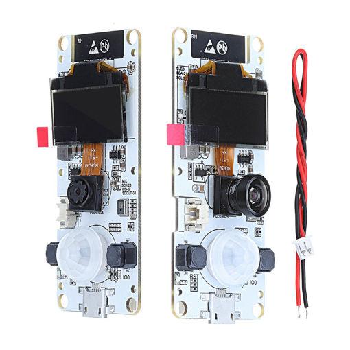 Immagine di LILYGO TTGO T-Camera With MIC ESP32 WROVER PSRAM ESP32-WROVER-B OV2640 Camera Module 0.96 OLED