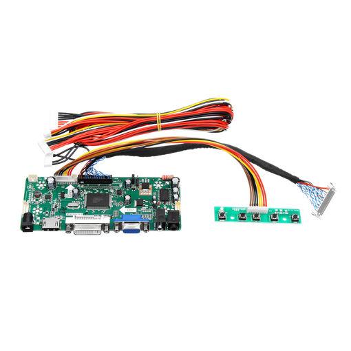 Immagine di M.NT68676.2A LCD Monitor Controller Board Converter Driver Kit HDMI DVI VGA for 1920x1200 LM240WU2-SLB2