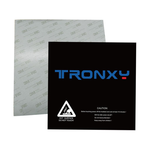 Immagine di 3PCS TRONXY 330*330mm Scrub Surface Hot Bed Sticker For 3D Printer