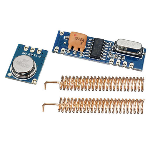 Picture of 10pcs 433MHz 100M Wireless Remote Control Transceiver Module Kit ASK Transmitter STX882 + ASK Receiv