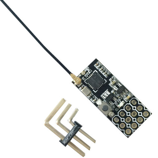 Immagine di FS2A 4CH AFHDS 2A Mini Compatible Receiver PWM Output for Flysky i6 i6X i6S Transmitter