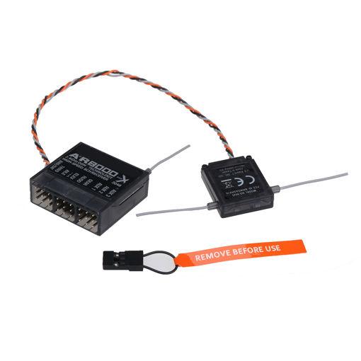 Immagine di AR8000 2.4GHz 8CH High Speed Mini Receiver Support DSM2 DSMX For Spektrum DX7s DX8 DX9 Satellite