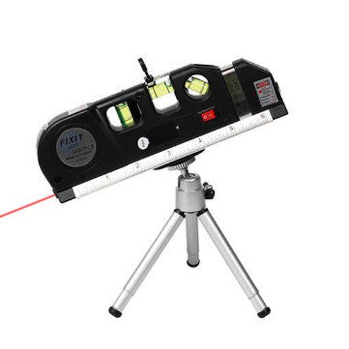 Picture of Loskii DX-013 Multipurpose Laser Level Horizontal Vertical Measure Tape Aligner Ruler 3 Bubbles