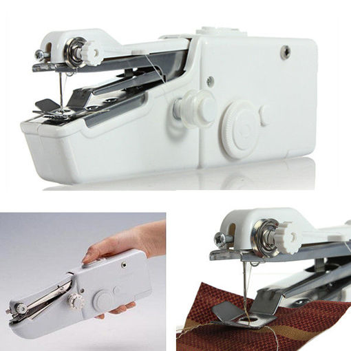 Picture of Loskii BX-215 Portable Mini Electric Handheld Sewing Machine Travel Household Cordless Stitch
