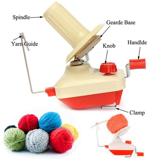 Picture of Hand Operated Plastic Winder Machine Yarn Fiber Wool String Ball Winding Machine
