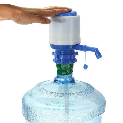 Picture of Bottled Drinking Water Hand Press Pump 5-6 Gal Dispenser
