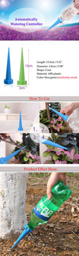 Picture of 4pcs Garden Watering Drip Control Flower Pot Automatic Irrigation Tools Kit