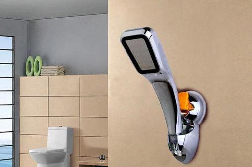 Picture of Universal Adjustable Shower Head Holder Cupula Suction Sprinkler Base
