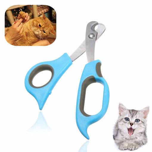 Picture of Pet Dog Cat Rabbit Nail Clippers Trimmers Toe Paw Claw Grooming Scissors Cutter