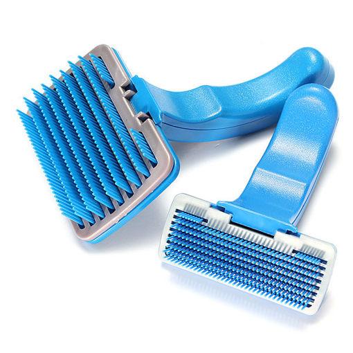 Picture of Pet Dog Cat Hair Fur Shedding Trimmer Grooming Rake Comb Brush