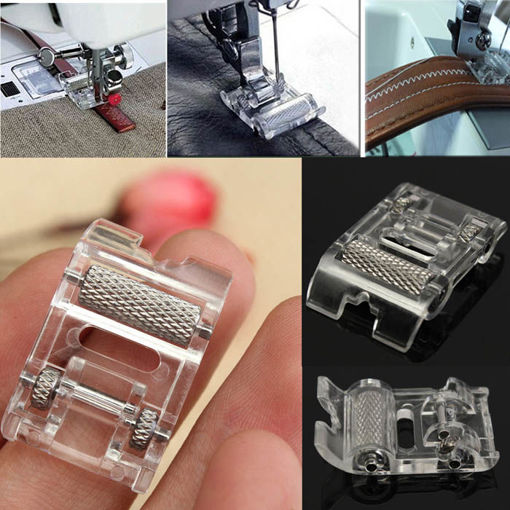 Picture of Leather Roller Presser Foot Replacement For Brother Singer Sewing Machine