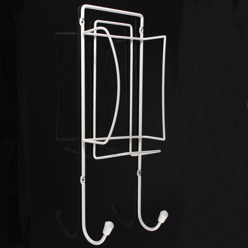 Picture of Metal Ironing Board Rack Electric Iron Holder Household Bathroom Shelves