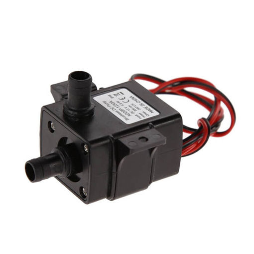 Picture of 12V 3.6W Mini DC Brushless Garden Fountain Pump Hydrological Cycle Submersible Water Pump