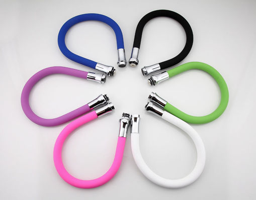 Picture of FRAP F7250 Multi-color Silicone Tube Flexible Hose All Direction for Kitchen Faucet 6 Colors Availab