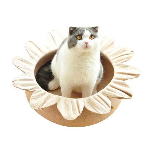 Picture of Hapet Warm Cat House Fashion Four Seasons Universal Fashion Big Pet Bed