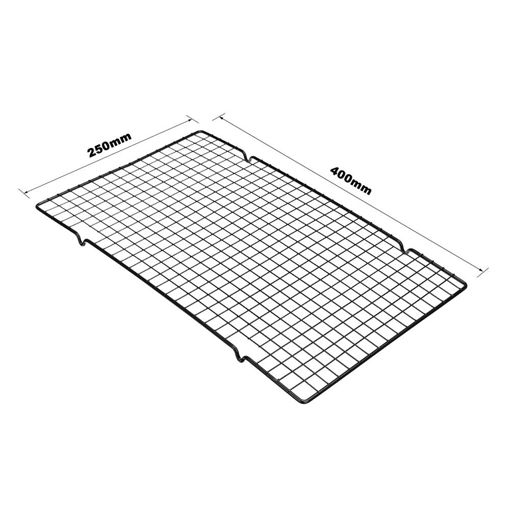 Picture of 400 x 250 x 15mm Baking Cooling Rack Non-stick Wire Grid Baking Tools For Kitchen Oven