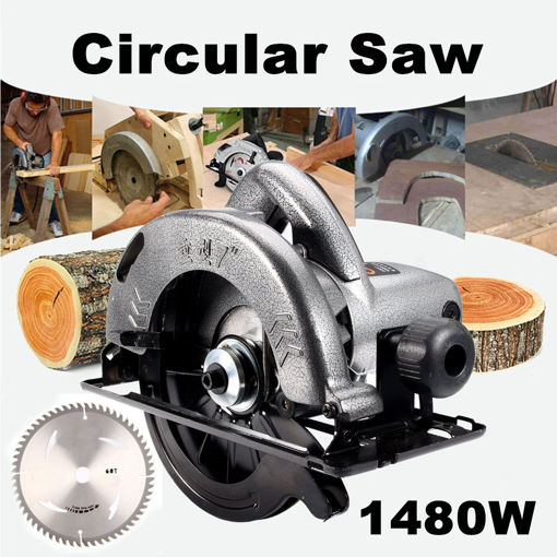 Picture of Raitool 1480W 7 Inch Electric Circular Saws Electric Saw Woodworking Cutting Machine Tools Set